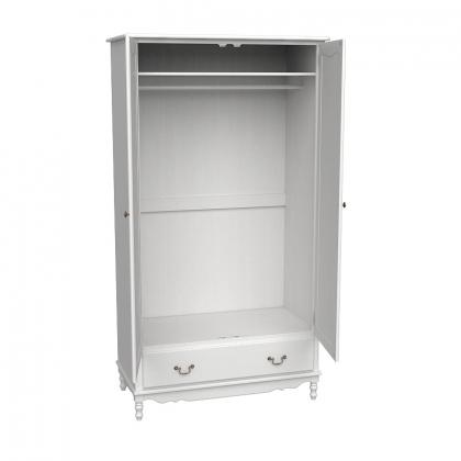 Шкаф 2-х дверный Верден слоновая кость